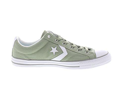 Calzado deportivo para hombre, color Verde , marca CONVERSE, modelo Calzado Deportivo Para Hombre CONVERSE CHUCK TAYLOR STAR PLAYER OX Verde dried sage/white/dolphin