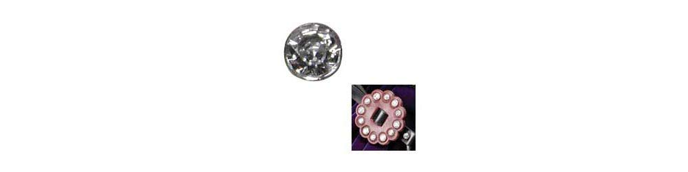 Tandy Leather Synthetic Crystal Rivets 7mm 10//pk 1366-03
