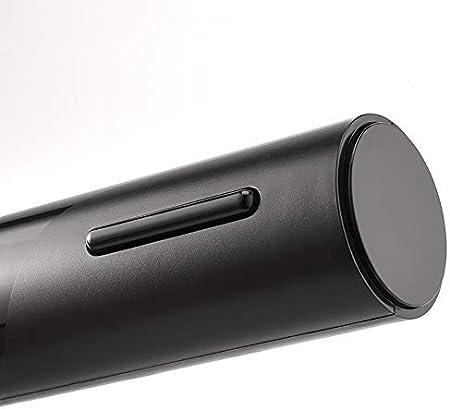 MOSINITTY 5 en 1 - Sacacorchos automático recargable micro USB con cortador de láminas, aireador de vino, bomba de vino de vacío, tapón de vino 5 en 1 juego de regalo para amantes del vino