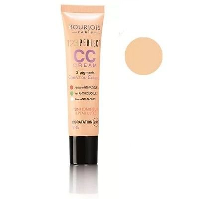 (Bourjois 123 Perfect CC Cream 24H Hydration SPF 15 30ml 32 Light Beige)