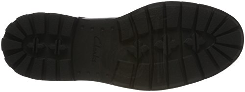 Clarks Stringate Nero Batcombe Leather Scarpe black Derby Hall Uomo FrB7F