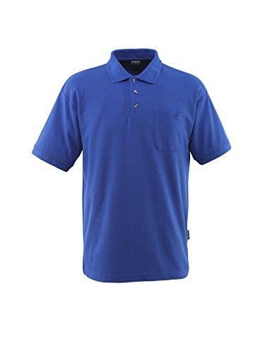 Mascot 00783-260-11-XS Borneo Polo Shirt, X-Small, Blue