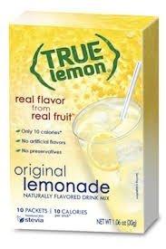 True Lemon Original Lemonade 10 packets per box (2 boxes 20 packets total)