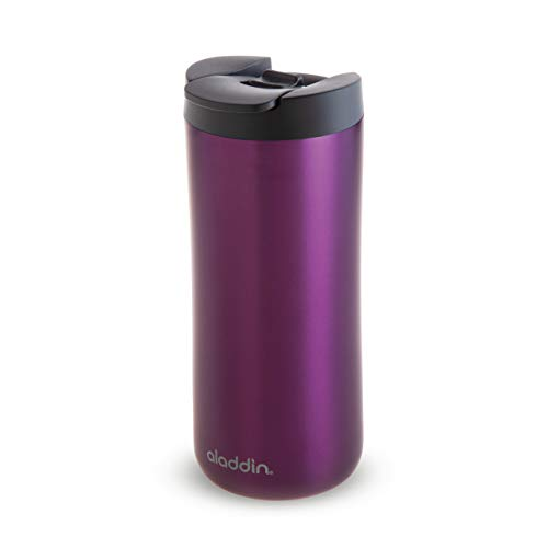 Aladdin 10-08542-003 Vacuum Mug, Acero Inoxidable, Morado, 0,35 L
