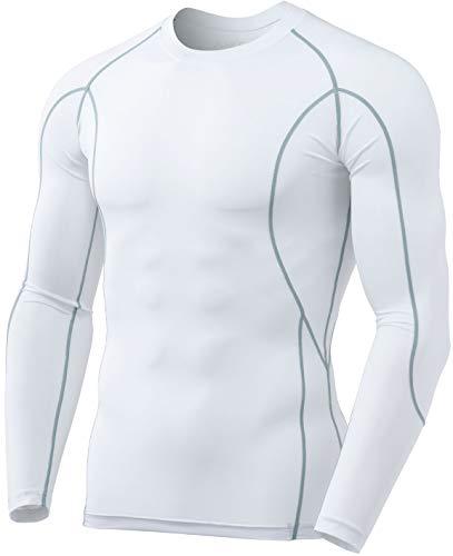 TSLA Men's UPF 50+ Quick Dry Long Sleeve