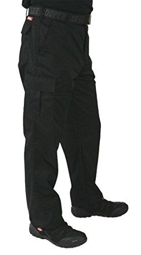 Cooper LongNoir Lee 205 Men's Pantalon 48 Cargo Black jUSqzVpLMG
