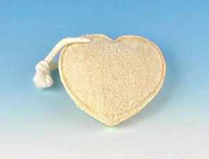 Fun Shaped Loofah Sponge - Heart Shaped by SeaSationals