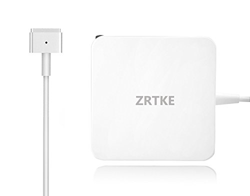 Zrtke Replacement Charger Compatible Mac Book Air,45W Magsafe 2 (T-Tip) Replacement AC Power Adapter Connector Mac Book Air 11 and 13