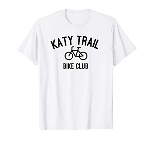 Katy Trail Bike Club t-shirt (Best Bike For Katy Trail)