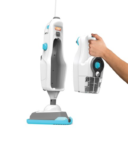 Vax S86-SF-C Steam Fresh Combi 15-in-1 Steam Cleaner, 0.5 L - White/Grey