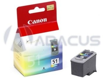Genuine Canon Cl-51 High Capacity Color Ink Cartridge [Office - Cl Capacity 51 High Color
