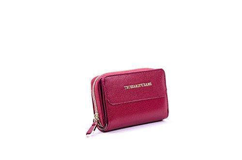 Trussardi Vail Woman Wallet Medium Zip Around Bordeaux