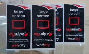 MYWIPE extra grandes de TV de pantalla de paños de limpieza ...
