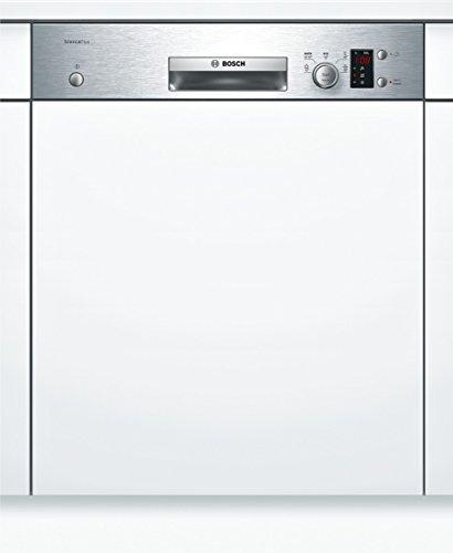 Bosch SMI50D45EU Serie 4 Teilintegrierbarer Geschirrspüler / Einbau / A+ A / 12 Maßgedecke / 48 db / Edelstahl / Startzeitvorwahl / VarioSpeed / 59.8 cm