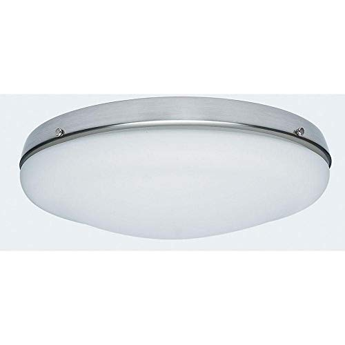 Hunter 99155 Low Profile Light Kit, Candelabra Bulbs, Brushed Nickel