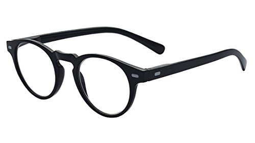 Outray Vintage Inspired Small Round Clear Lens Glasses