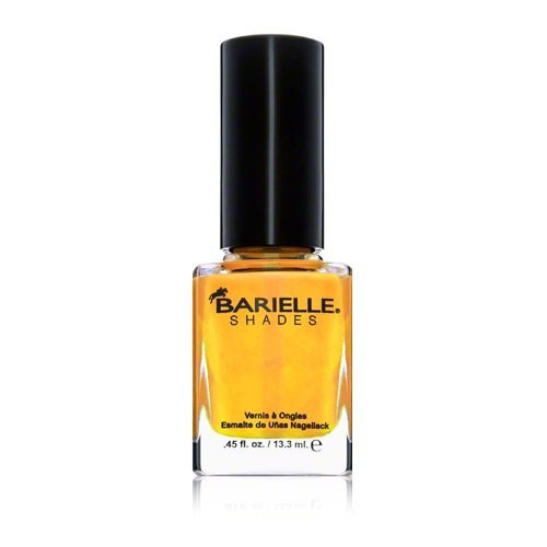 Barielle Lemondrops Nail Polish, Sun Yellow Cream, 0.45 (Barielle Shades)