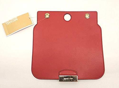 MICHAEL Michael Kors Womens Sloan Select Purse Leather Flap Set Red Medium