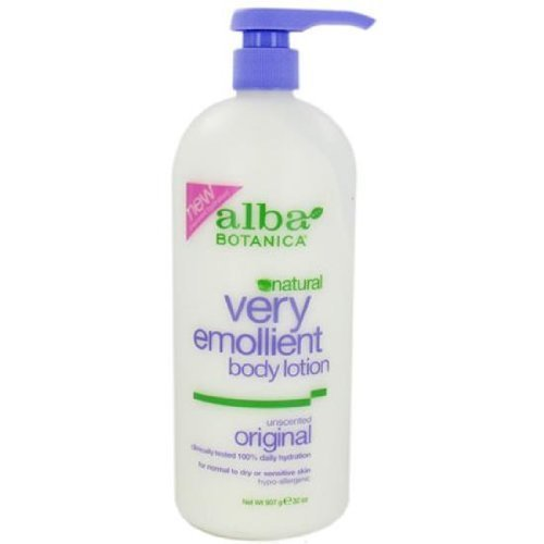 Lotion Botanica Alba Very Moisturizing Emollient Lotion Body (Alba Botanica Very Emollient Body Lotion Unscented - ( 1 x 32 Ounce) by Alba Botanica)