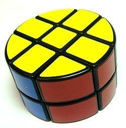 - Lanlan 2 x 3 x 3 Pie-Shape Round Column Speed Cube Black Puzzle