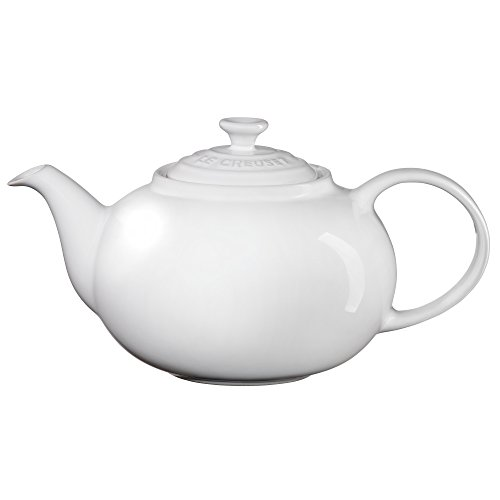 Le Creuset PG0328-0016 Enameled Stoneware Traditional Teapot