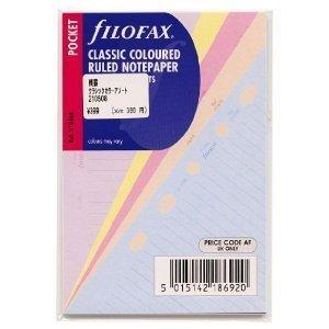 Filofax Pocket Ruler Page Marker Black