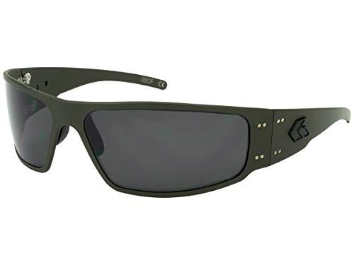 Gatorz MAGCOG01P Magnum Sunglass Magnum, OD Green Cerakote Frame, Smoked Polarized ()