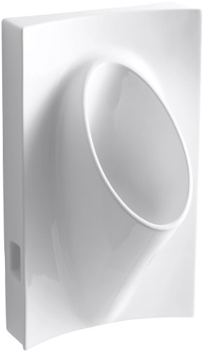 Kohler Steward Wall-Mount Waterless Urinal, - Steward Urinal Waterless Kohler