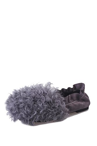 Caída de coreanos zapatos gamuza plana cabeza redonda/ zapatos casual/ velvet bean B