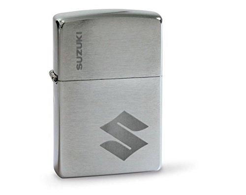 Suzuki ZIPPO Feuerzeug silber