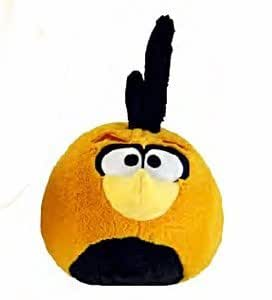 Orange globe bird 8 angry birds plush normal version with sound toys games - Mighty eagle plush toy ...