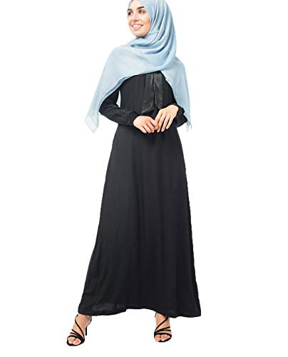 Silk Route Feminine Viscose Abayas Maxi Dress Jilbabs …