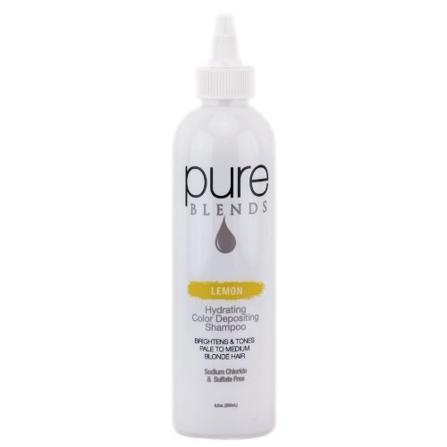pure BLENDS Lemon Color Depositing Shampoo 250 ml