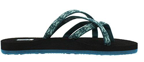 868 Women's hazel Thong Teva Olowahu Blau Sandals Blue AZw05UxqnO