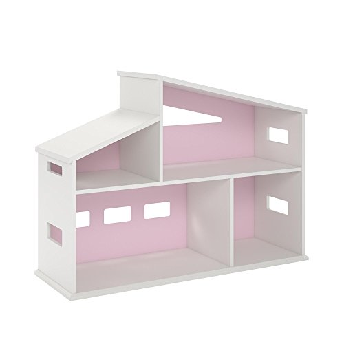 Novogratz Addison Dollhouse Bookcase, - Bookshelf Doll House