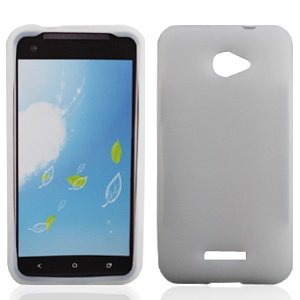 Bundle Accessory for Verizon HTC Droid DNA 6435 - Clear Silicon Skin Soft Case Protector Cover + Lf Stylus Pen + Lf Screen (Cover Htc Droid Dna 6435)