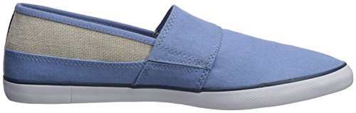 Lacoste Hemp Collar Sneaker Men's Marice Blue rwRZrI