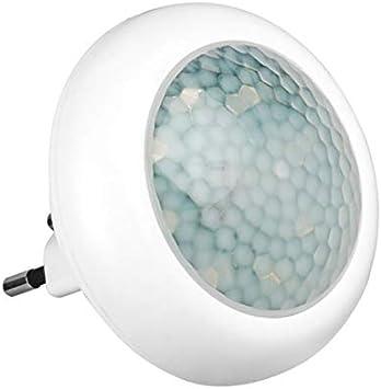 myMAW LED Nachtlicht mit Bewegungsmelder, stromsparendes Notlicht für Steckdose (8 LED´s, Energieklasse: A++, mit Dämmerungssensor, für Treppen,