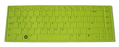 BingoBuy Silicone Keyboard Protector Skin Cover for Dell Inspiron N5030/N4030/N4020/N4010/N3010/M5030/1440, Studio 1457/1458/1450, Vostro 3300/3400/3500/V13, XPS L401X/L501X (if your