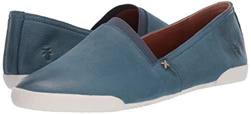 Frye Women's Melanie Slip On Sneaker, Sea Blue, 5.5 Medium US