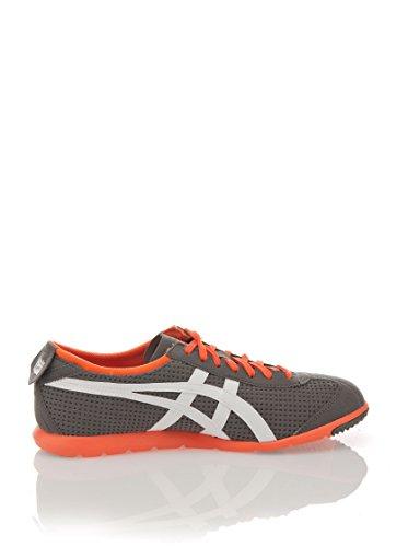 Onitsuka Tiger  Rio Runner,  Unisex-Erwachsene Sneakers , grau - Gris / Blanco / Naranja - Größe: 36