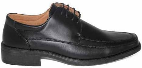 SALE Mens Smart Casual Black Lace Up