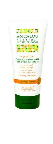 Rescue Deep Conditioner - Andalou Naturals Argan Oil Plus Deep Conditioner, 5.8 Fluid Ounce
