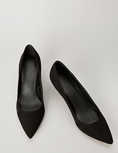 FIND Damen Pumps Schwarz (Black)