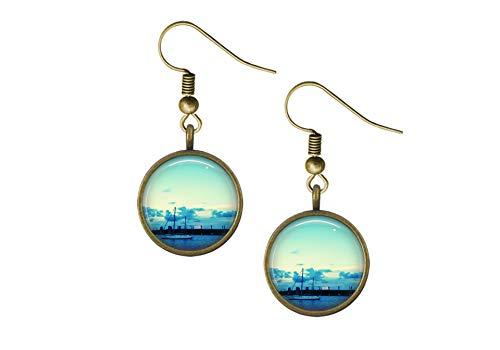 Sailboat Wire Earrings