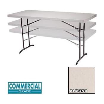 Amazon.com: 22920 Utility mesa plegable, 6 pies de altura ...