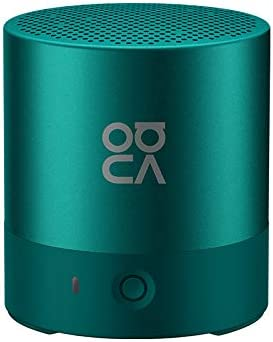 Huawei Mini Altavoz inalámbrico Bluetooth portátil Altavoces Doble Surround Sonido Manos Libres Bluetooth 4.2 IP54 Impermeable Altavoz Bluetooth (Verde)