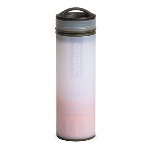 GRAYL Ultralight Water Purifier [+ Filter] Bottle (Alpine White)
