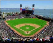 Oracle Park San Francisco Giants 2019 MLB Stadium Photo (Size: 16