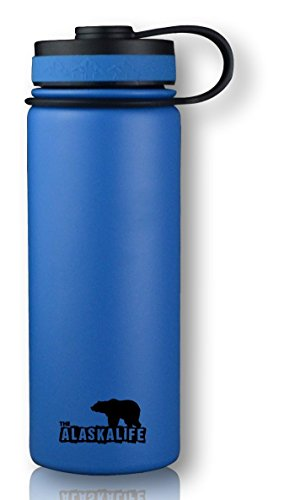 Stainless Steel Water Bottle Wide Mouth Bottle Insulated Water Bottle Double Walled Vacuum Insulated Water Bottle 18 oz